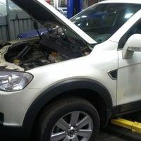 Photo taken at Автосалон GM Chevrolet Рохат by Monsieur on 11/22/2012