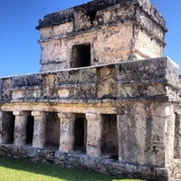 Photo taken at Tulum Archeological Site by Juan Pablo P. on 2/9/2013