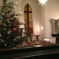 Photo taken at Evangelische Kirche am Ölrain by Sebastian M. on 12/26/2012