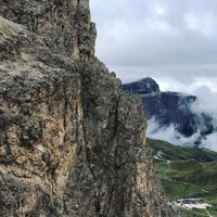 Photo taken at Rifugio Passo Sella by Abdullah A. on 9/2/2017