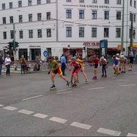Das Foto wurde bei Rosenthaler Platz von Ruslan V. am 9/29/2012 aufgenommen