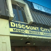Photo taken at discount city Music , Movies by Chris N. on 2/1/2013