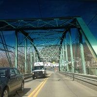 Photo taken at West Newton Bridge by Anthony B. on 3/29/2013