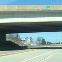 Photo taken at Route 119/Rt 22 Interchange by Anthony B. on 4/10/2014