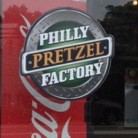 Photo taken at Philly Pretzel Factory by Jim M. on 6/27/2013