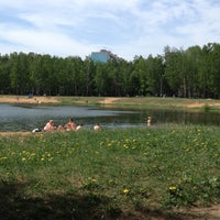 Photo taken at Зарёвское озеро by Дмитрий У. on 5/19/2013