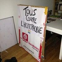 Photo taken at Rue Du Vieil Hopital by Damien • h. on 11/17/2012