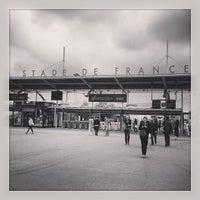 Photo taken at RER Stade de France Saint-Denis [D] by Damien • h. on 6/10/2013