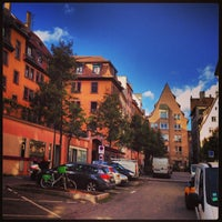 Photo taken at Rue Du Vieil Hopital by Damien • h. on 10/30/2013