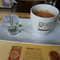 Photo taken at PaneOlio Ristorante & Caffe by Sandro L. on 5/24/2013