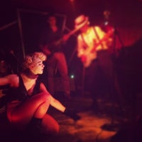 Photo taken at The McKittrick Hotel by Alex C. on 12/10/2012