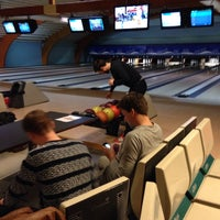 Photo taken at Torhout Bowling Center by Wannes M. on 2/27/2016