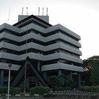 Photo taken at Gedung Rektorat Unhas by Ahmad U. on 2/6/2013