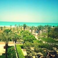 Photo taken at The St. Regis Saadiyat Island Resort by Rafael M. on 5/20/2013
