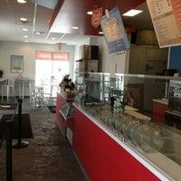 Photo taken at Halfmoon Creative Salads by Greg C. on 12/28/2012