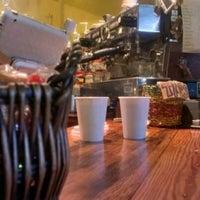 Photo taken at Slow Train Coffee by Armen K. on 11/12/2012
