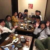 Photo taken at 本格創作料理 月色の夜 by Takuma E. on 5/1/2016