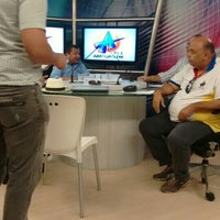 Photo taken at TV Arapuan by Humberto J. on 9/21/2015