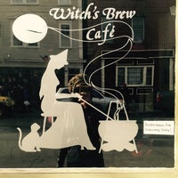 Photo taken at Witch's Brew Cafe by milk inque on 11/1/2015