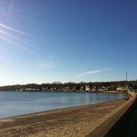 Photo taken at Portsmouth Beach by Alissa E. on 12/6/2012
