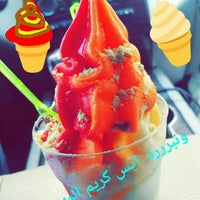 Photo taken at أيس كريم المهـند   AlMuhanad icecream by 3loosh D. on 10/27/2015