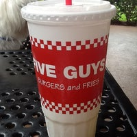 Photo taken at Five Guys by pierre d. on 4/21/2013