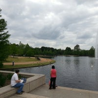 Photo taken at Hermann Fountain by Mohamed A. on 4/23/2013
