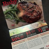 Photo taken at Ruby Tuesday by Kathie H. on 1/10/2015