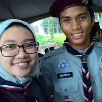 Photo taken at Sarawak Scout HQ by Abby A. on 2/27/2016