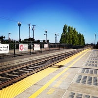 Photo taken at San Carlos Caltrain Station by wei s. on 9/8/2013