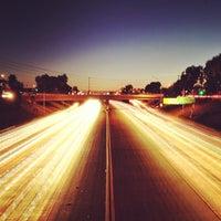Photo taken at CA-55 (Costa Mesa Freeway) by Alexander P. on 2/23/2013
