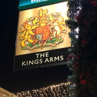 Photo taken at King's Arms by Capt_mm K. on 12/28/2017