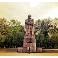 Photo taken at Пам'ятник Івану Франку / Ivan Franko Monument by Paskal A. on 4/27/2013