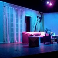 Photo taken at Teatro ICBEU by Sergio M. on 3/4/2013