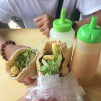 Photo taken at Magboul Shawarma by Kass on 8/29/2017