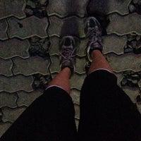 Photo taken at Cyber City Jogging Tracks by EstherGK on 3/10/2014