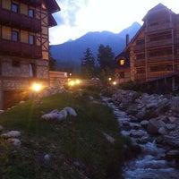 Photo taken at Kukucka Mountain Hotel by Lucia P. on 6/10/2015