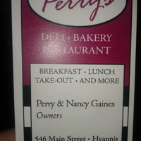 Photo taken at Perry's Main Street Deli by Jay M. on 9/23/2012