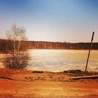 Photo taken at Климовские карьеры by Евгения К. on 3/29/2014