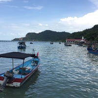 Photo taken at Teluk Tempoyak by Aqilah Y. on 8/28/2016