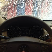 Photo taken at Mike's Express Car Wash by Matty M. on 5/8/2014