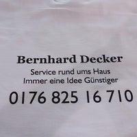 bernhard decker service rund ums haus kothen fuchsstr 43. Black Bedroom Furniture Sets. Home Design Ideas
