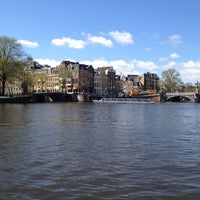 Photo taken at Amsterdam Canals by Jasper J. on 4/20/2013