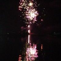 Photo taken at Cribstone Bridge by Jen R. on 7/6/2013