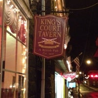 Photo taken at King's Tavern and Wine Bar by Jenn S. on 12/25/2014