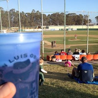 Photo taken at SLO Blues Baseball by Colin D. on 6/8/2014