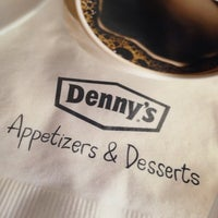 Photo taken at Denny's by Adam T. on 1/31/2014