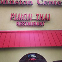 Photo taken at Pimon Thai by Bryan H. on 8/30/2013