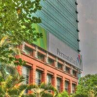 Photo taken at Permata Bank Tower Sudirman by Erfira S. on 12/31/2012