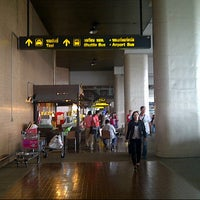 Photo taken at Don Mueang International Airport (DMK) by Frilliq e. on 10/5/2013